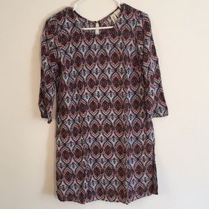 Dresses & Skirts - Boho 3/4 Sleeve Dress